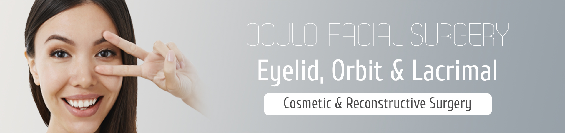 Cosmetic and Reconstructive Surgery of the eyelids, orbits and tear ducts